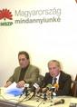 Horn Gyula sajtóértekezlete a Medgyessy-ügyről