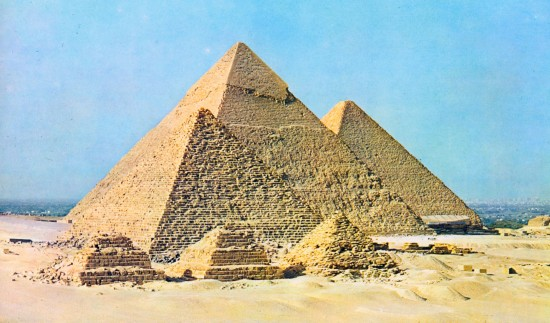 A gízai piramisok