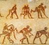 Birkózók. Amenemhat kormányzó sírja