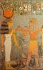 Horemheb bort áldoz Hathornak. Akna, Horemheb sírja