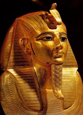 I. Pszuszennész arany halotti maszkja