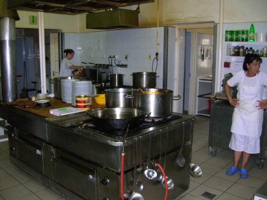 Étterem konyhája