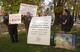 Tiltakozás a Zengőre tervezett radarállomás ellen