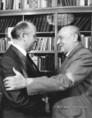 Kádár János fogadta Mihail Gorbacsovot
