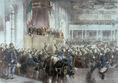 Az első népképviseleti országgyűlés megnyitása
