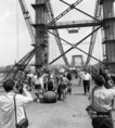 Áll az Erzsébet híd
