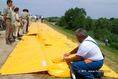 Új árvízvédelmi rendszer bemutatója