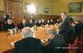 Grósz Károly megbeszélése egyházi vezetőkkel