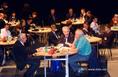 Ivar Giaver, Vizi E. Szilveszter és Sir Harold Kroto a Millenáris Park Színháztermében