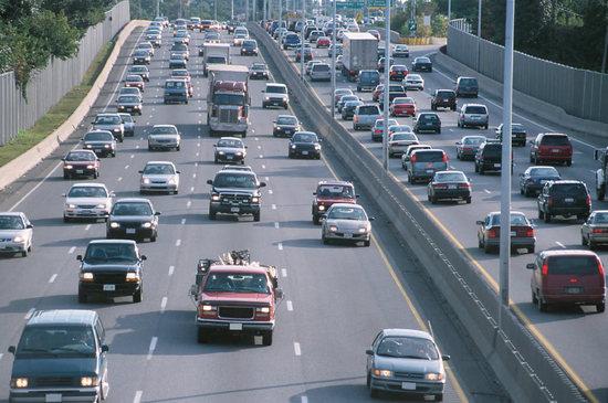 Az autók mozgása