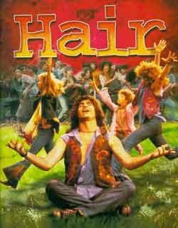 A Hair című rock-opera plakátja