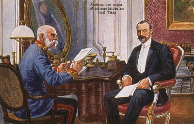 Tisza István és Ferenc József