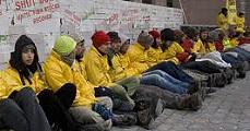 Újra Sajóbábonyban a Greenpeace