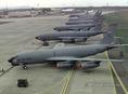 NATO repülőgépek Budapest-Ferihegyen