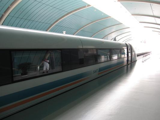 Mágnesvasút Shanghai