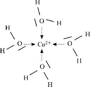 A réz(II)-ion akvakomplexe