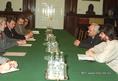 Jeszenszky Géza külügyminiszter találkozója a hazai szerbek képviselőivel