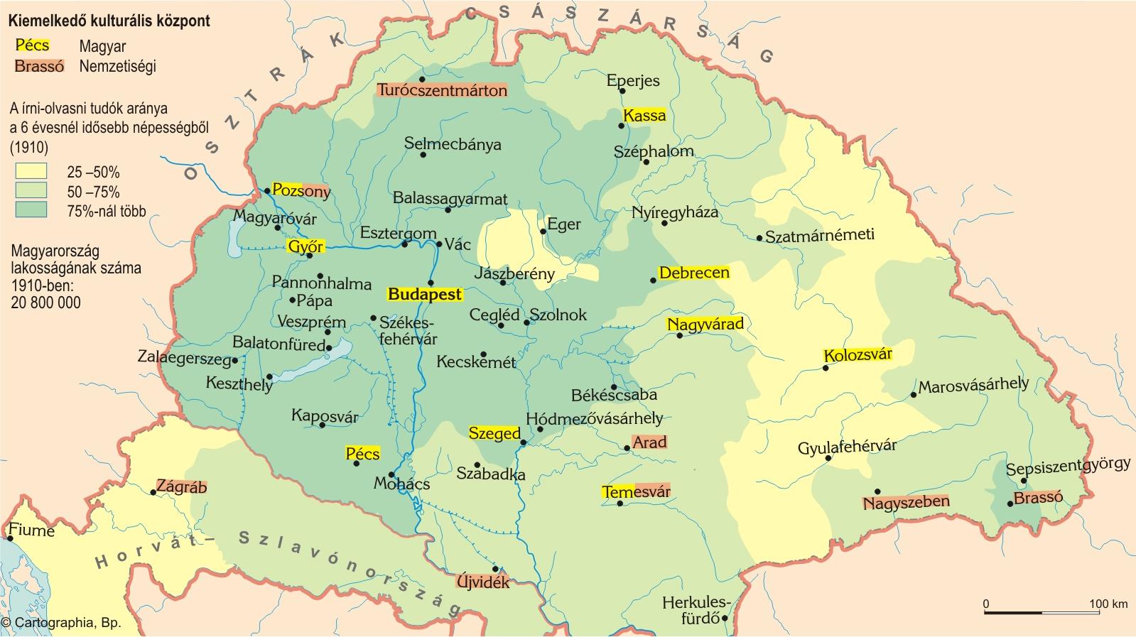 1864 Magyarorszag Terkep Groomania