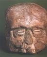Emberi koponya Jerihóból (Kr. e. 8. évezred eleje)