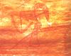 Több mint 10 ezer éves, a Kakadu Nemzeti Parkban fekvő Deaf Adder-szurdokból származó dinamikus ábrázolás