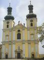 A boldogasszonyi ferences templom homlokzata