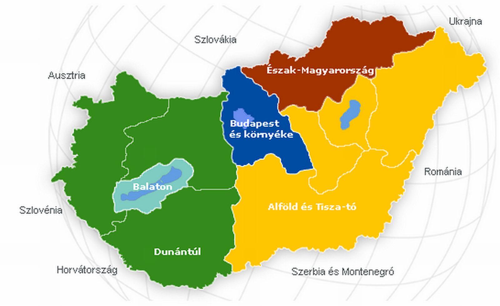 magyarország térkép tájegységek Közlekedési földrajz | SuliTudásbázis magyarország térkép tájegységek