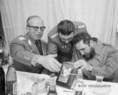 Dr. Fidel Castro Ruz a Néphadsereg csapatainak gyakorlatán