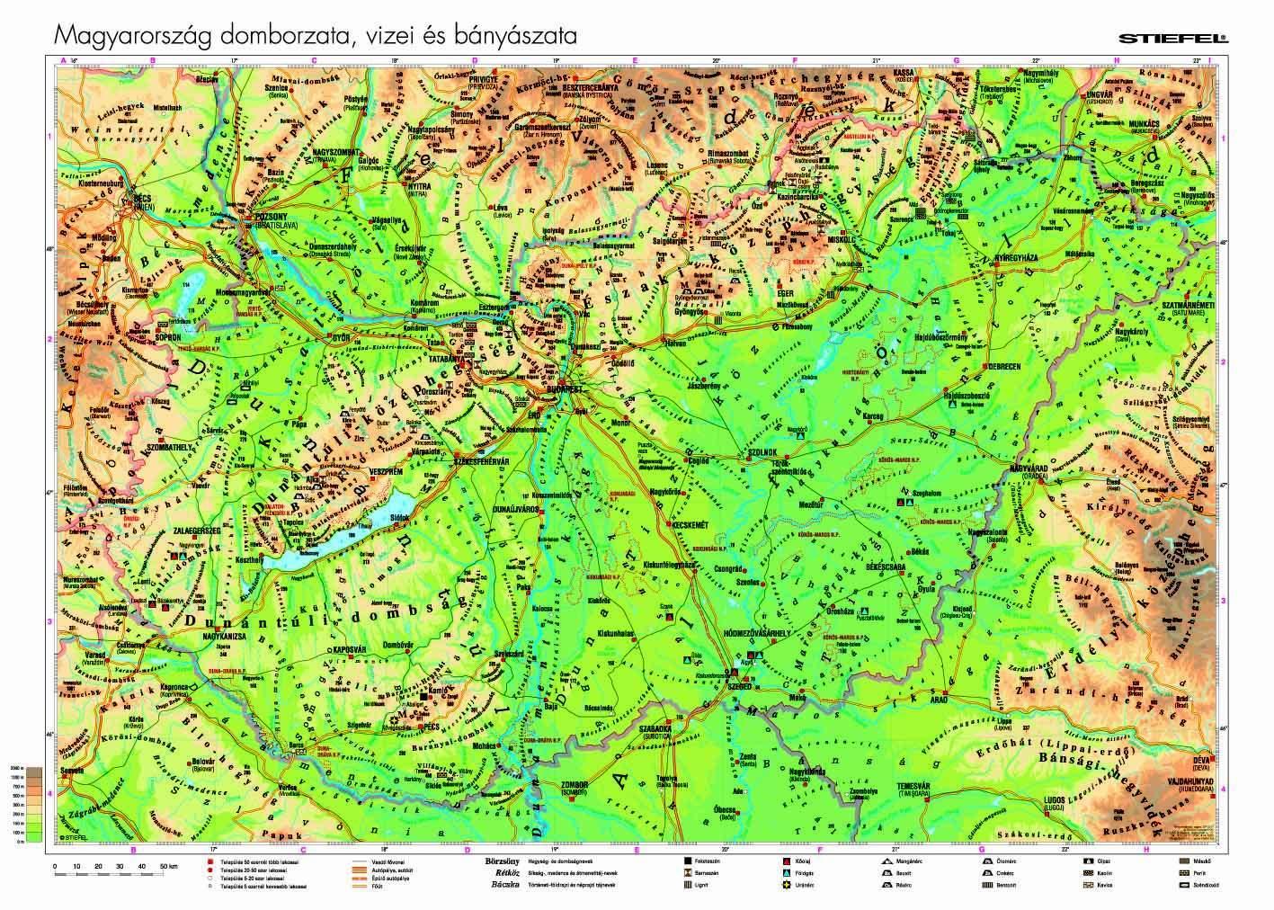 magyarország tavai térkép Ember a természetben   6. osztály | SuliTudásbázis magyarország tavai térkép
