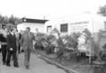 A Francia Szocialista Párt küldöttsége és vezetője, F. Mitterrand a Budapesti Nemzetközi Vásáron