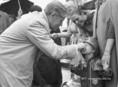 Helmut Schmidt a Kossuth téren