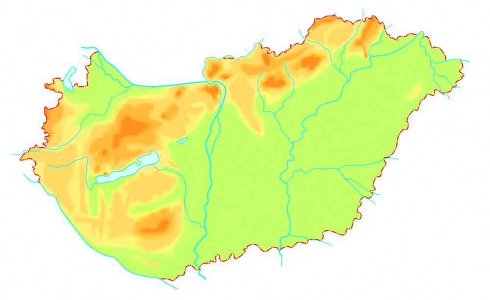 domborzati térkép magyarország Ember a természetben   5. osztály | SuliTudásbázis domborzati térkép magyarország
