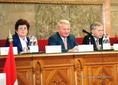 Parlamenti elnökök konferenciája Budapesten