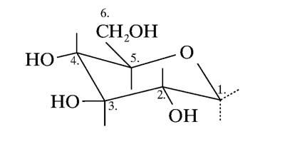 A glükóz legstabilabb konformációja