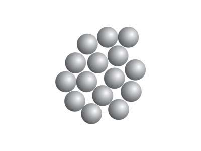 A részecskék elhelyezkedése a folyadékokban