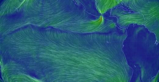 Passzátszelek-összeáramlása-Csendes-óceán