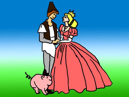 Szegénylegény és a királylány