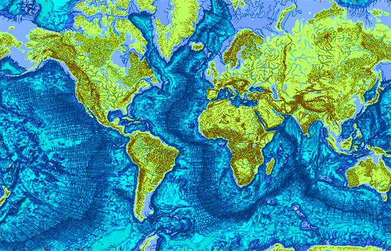 A Föld felszíne