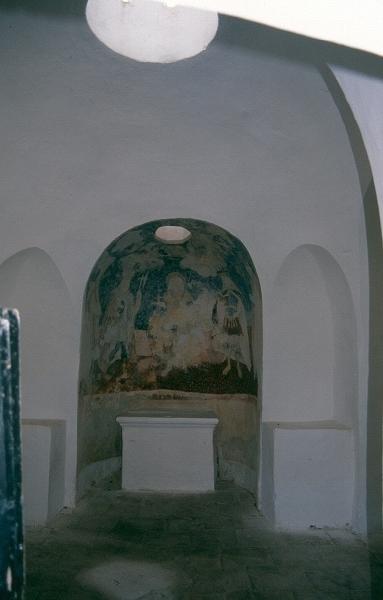 A kézdiszentléleki-perkői plébániatemplom kápolnájának belseje