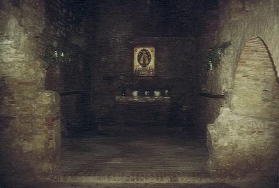 A sümegi vár várkápolnája