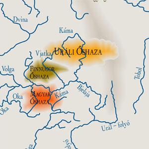 Az őshaza a térképen