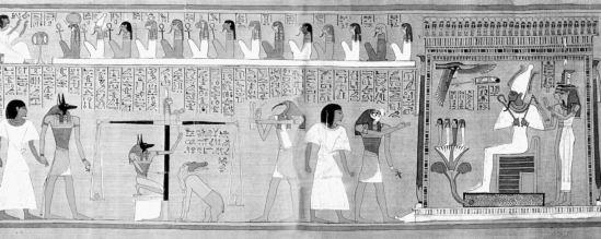 Az egyiptomi alvilág kapujában