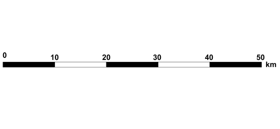 Vonalas aránymérték