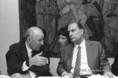 Francois Mitterrand díszebédje magyar vendéglátói tiszteletére