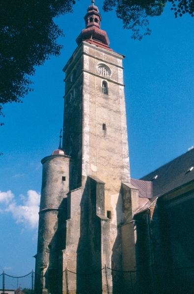 A racsai plébániatemplom tornya