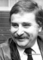 Milorad Pavic szerb író a PEN Clubban