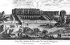 Versailles, királyi kastély - a második átépítés. Louis Le Vau, 1667.