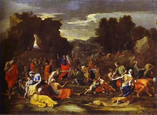 Nicolas Poussin: Mannahullás