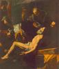 Jusepe Ribera: Szent András vértanúsága. 1628. Budapest, Szépművészeti Múzeum. 209 x 183 cm. Olaj, vászon.