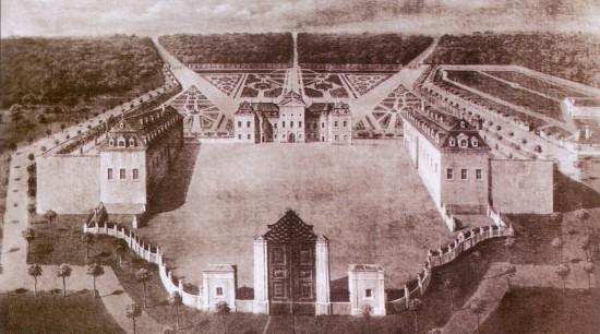 Süttör (Eszterháza), Esterházy-kastély, Anton Erhardt Martinelli, 1720-1727, elpusztult olajfestmény.