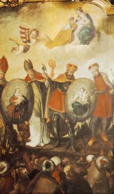 A Patrona Hungariae és a magyar szentek
